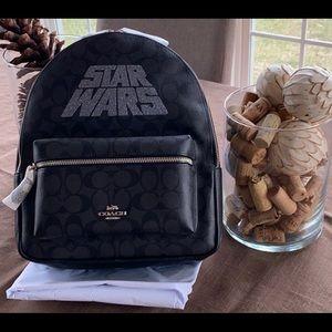 Coach X Star Wars backpack black smoke